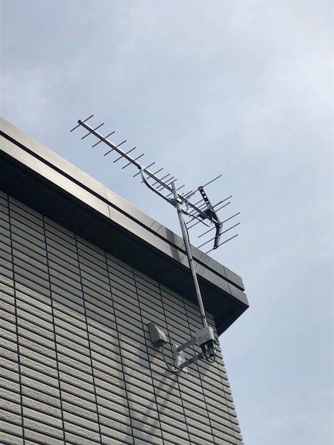 UHF+ブースターでの工事