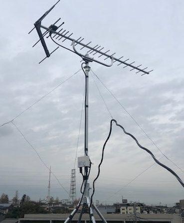 鶴見区北寺尾 地デジ工事(UHFアンテナ+ブースター)